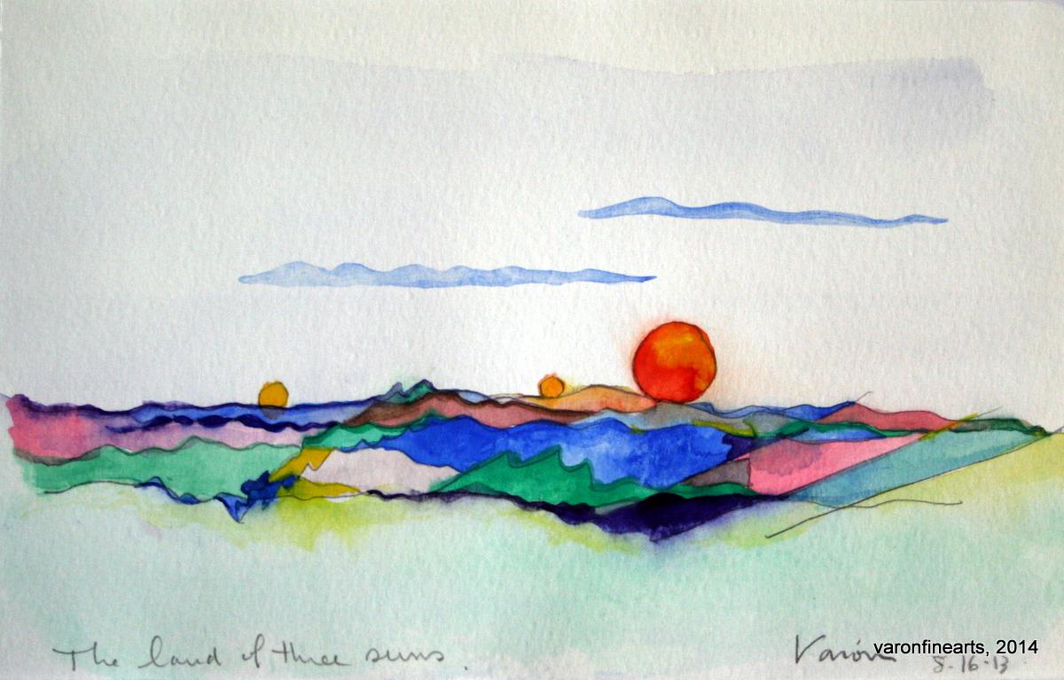 The Land of Three Suns
