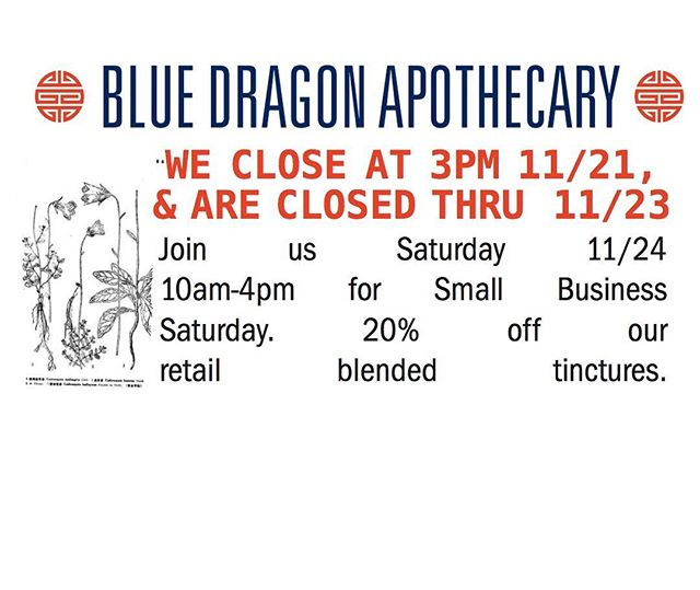 #bluedragonapothecary #smallbusinesssaturday