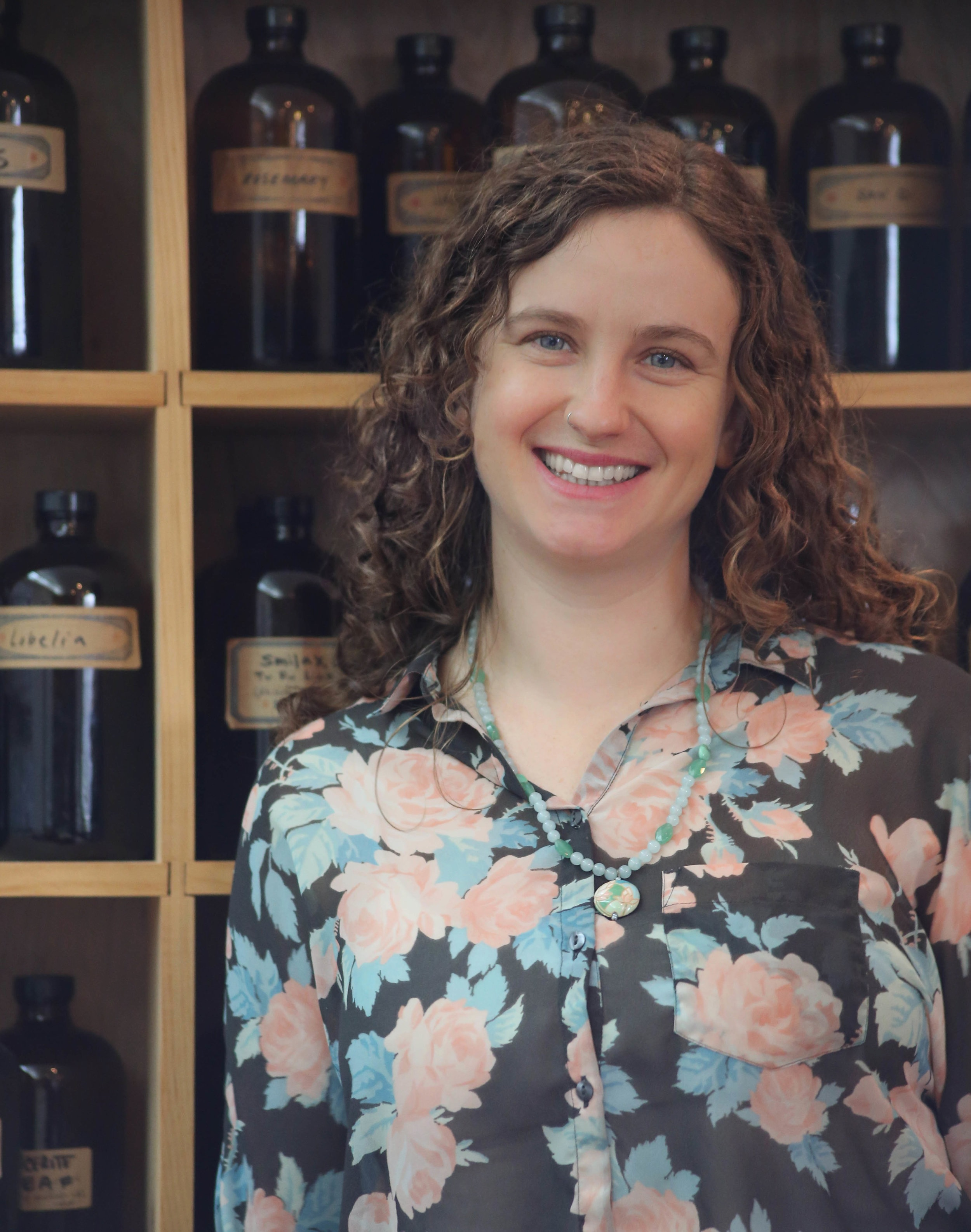 Emma Donnelly, Herbalist Co- Owner/Director of Blue Dragon Apothecary