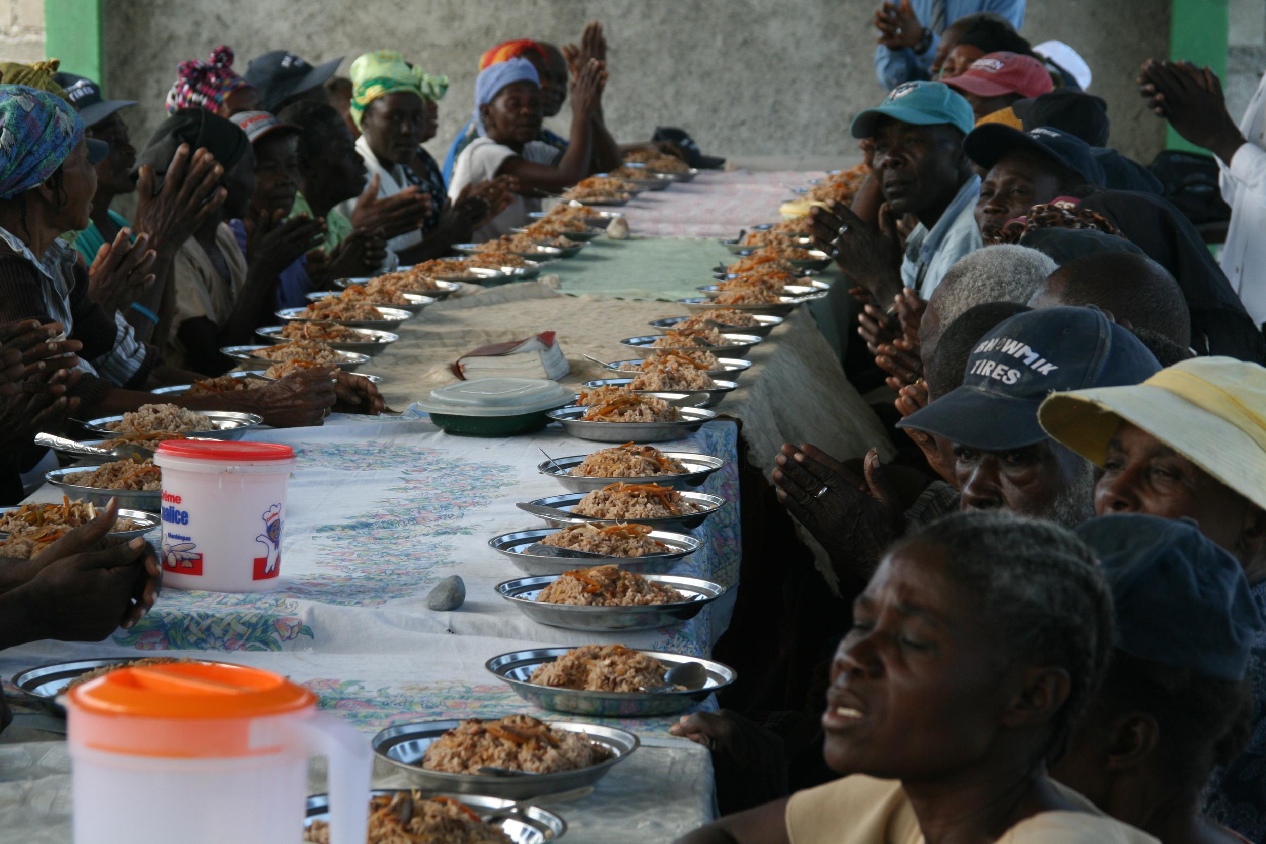 Elderly feeding program