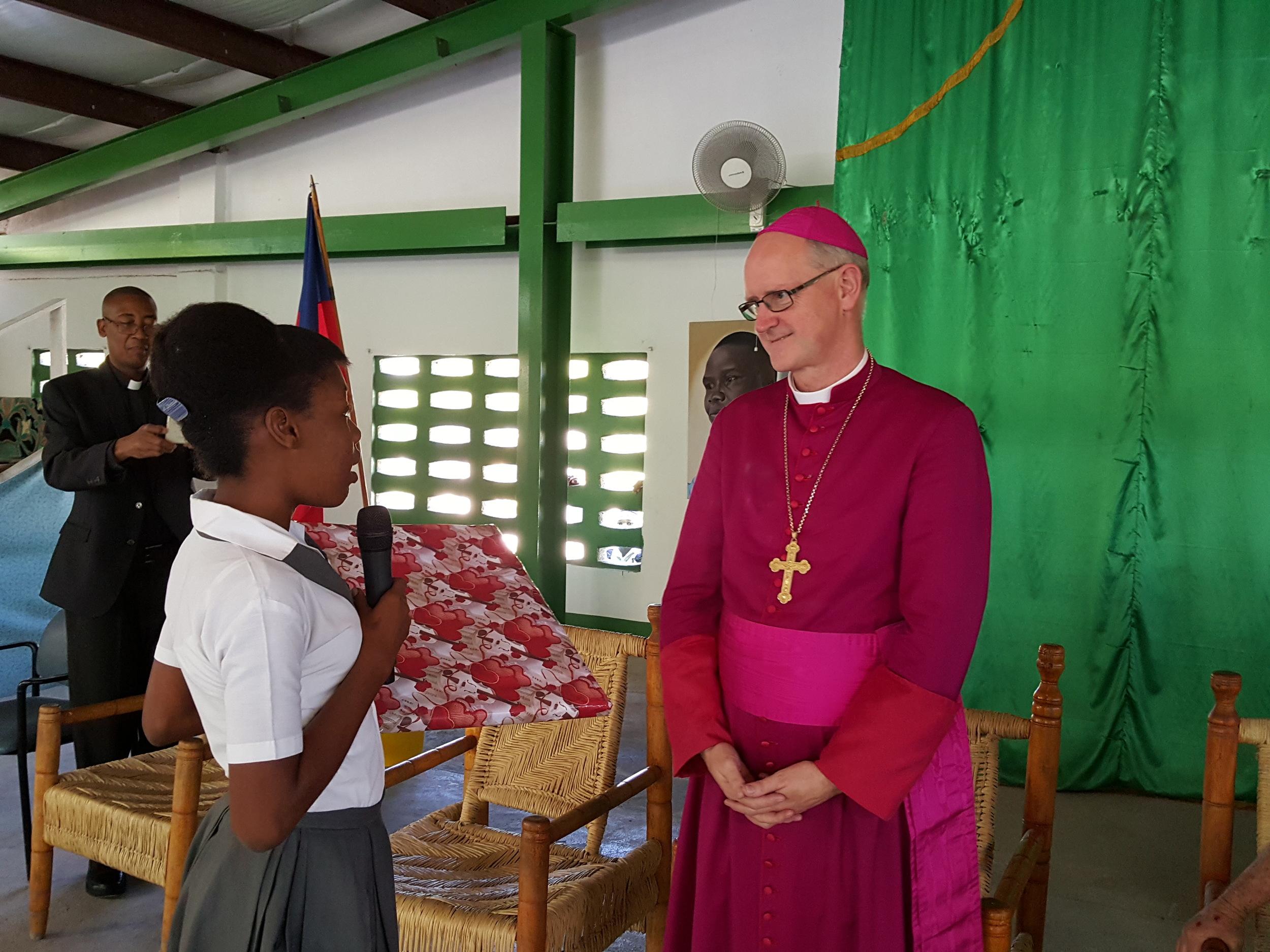Apostolic Delegate Visit March 2016
