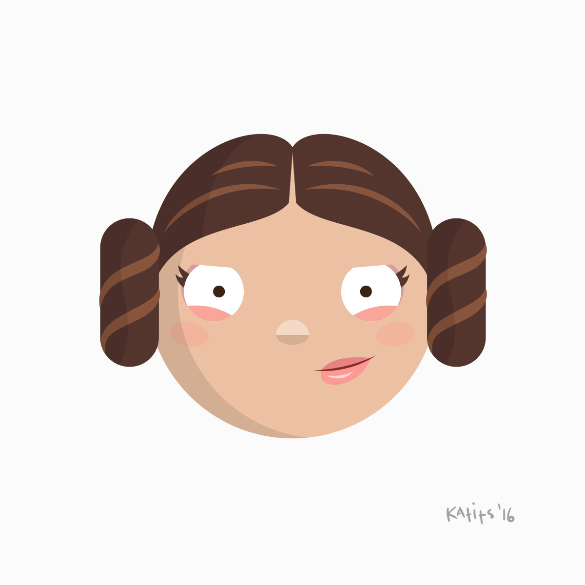 """CARRIE FISHER """"STAR WARS"""" 10/21/56–12/27/16"""