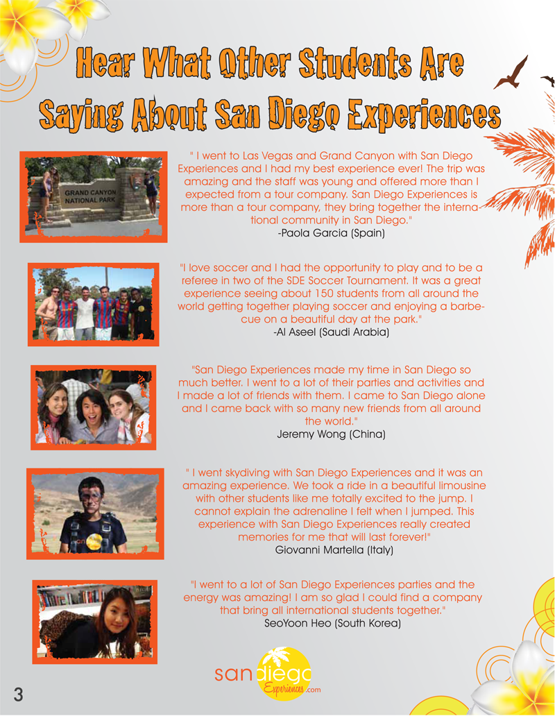 What are people saying about San Diego Experiences