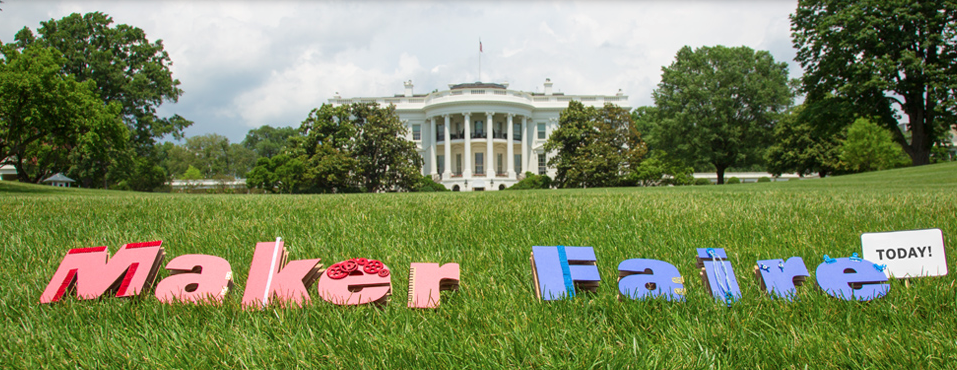 President Obama hosted a Maker Faire at the White House this past summer