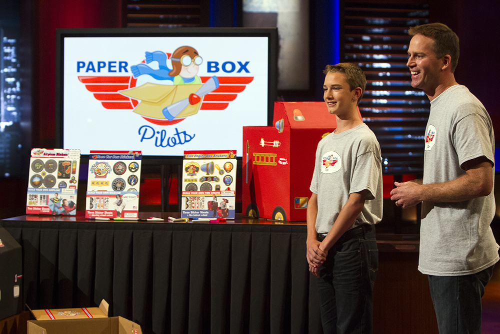 NeIL CAHOON, CEO of paper box pilots