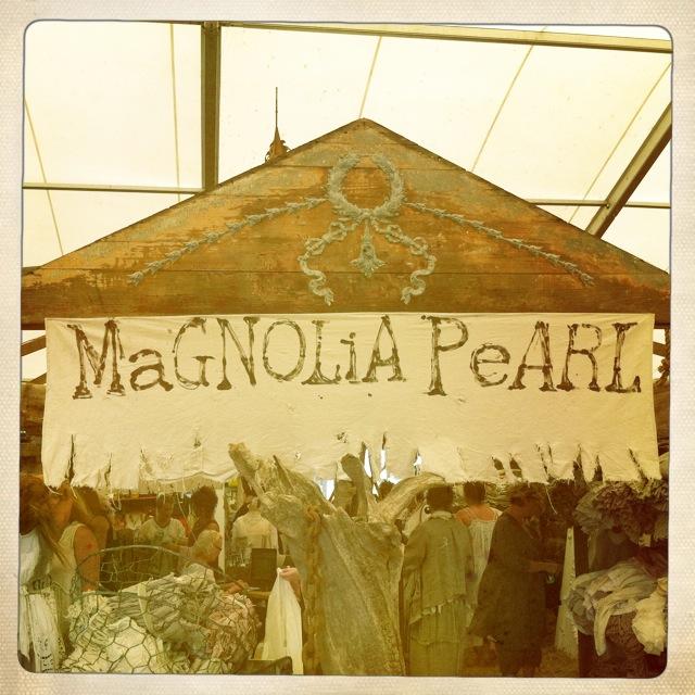 Magnolia Pearl Fall 2012 Booth