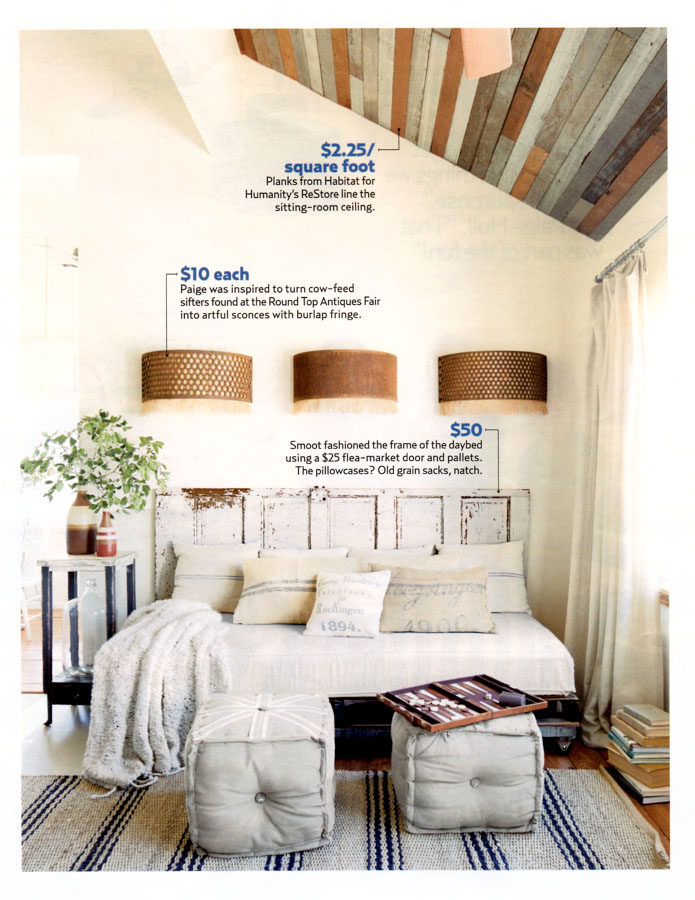 Country Living Feature The Vintage Round Top