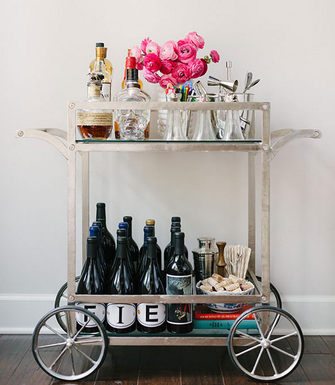 Paige S Picks The Modern Vintage Bar Cart The Vintage Round Top