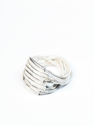 Foxtail Chain Ring from     Macha Jewelry