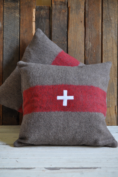 Swiss Army Pillow - The Vintage Round Top