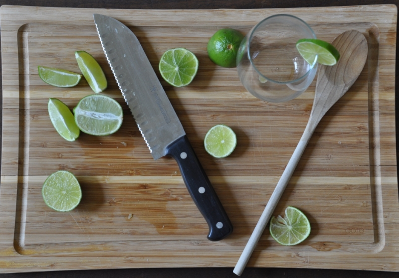 fresh limeade, the vintage round top