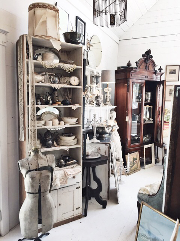 Bayberry's Antiques in Burton, Photo by Paige Hull