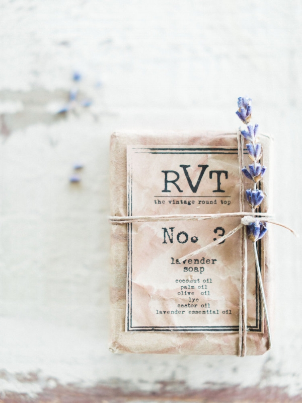 RVT HANDMADE SOAP COLLECTION, THE VINTAGE ROUND TOP