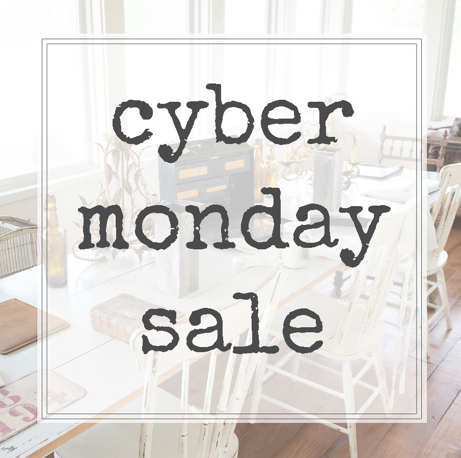 CYBER MONDAY SALE, THE VINTAGE ROUND TOP