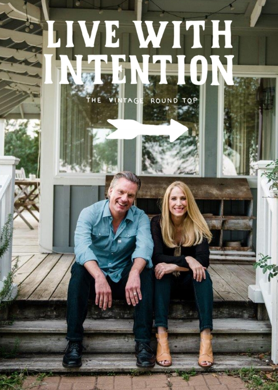 LIVING WITH INTENTION, THE VINTAGE ROUND TOP