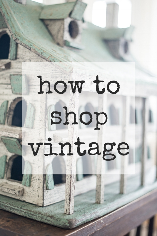 HOW TO SHOP VINTAGE, THE VINTAGE ROUND TOP
