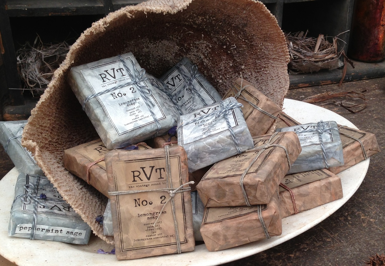 RVT HANDMADE SOAP, THE VINTAGE ROUND TOP