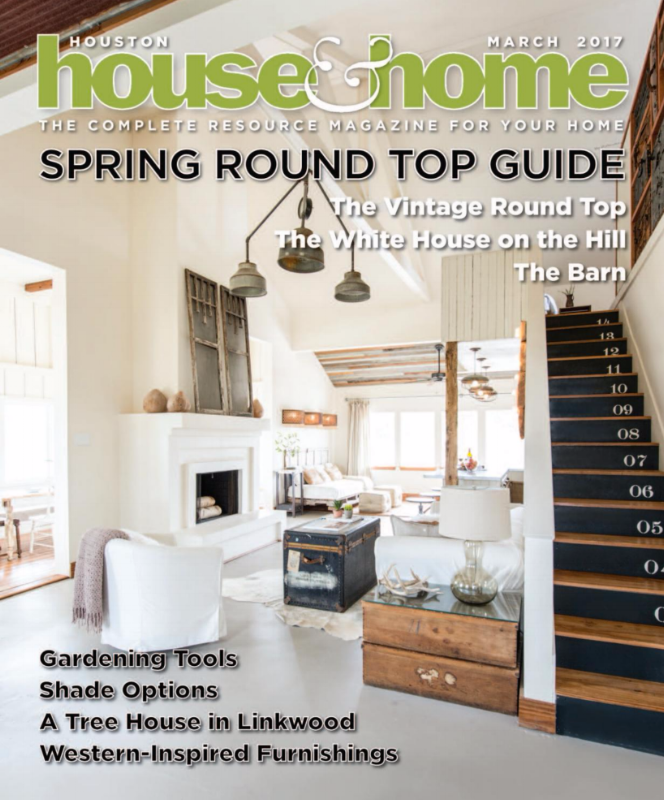 HOUSTON HOUSE & HOME, THE VINTAGE ROUND TOP