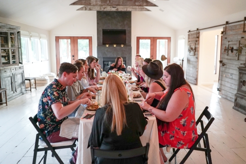 Blogger Retreat - The Vintage Round Top