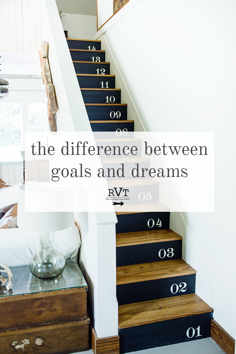 The Difference Between Goals and Dreams