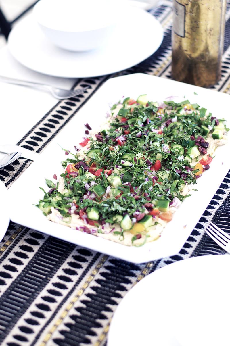 Smart In The Kitchen 7 Layer Mediterranean Dip