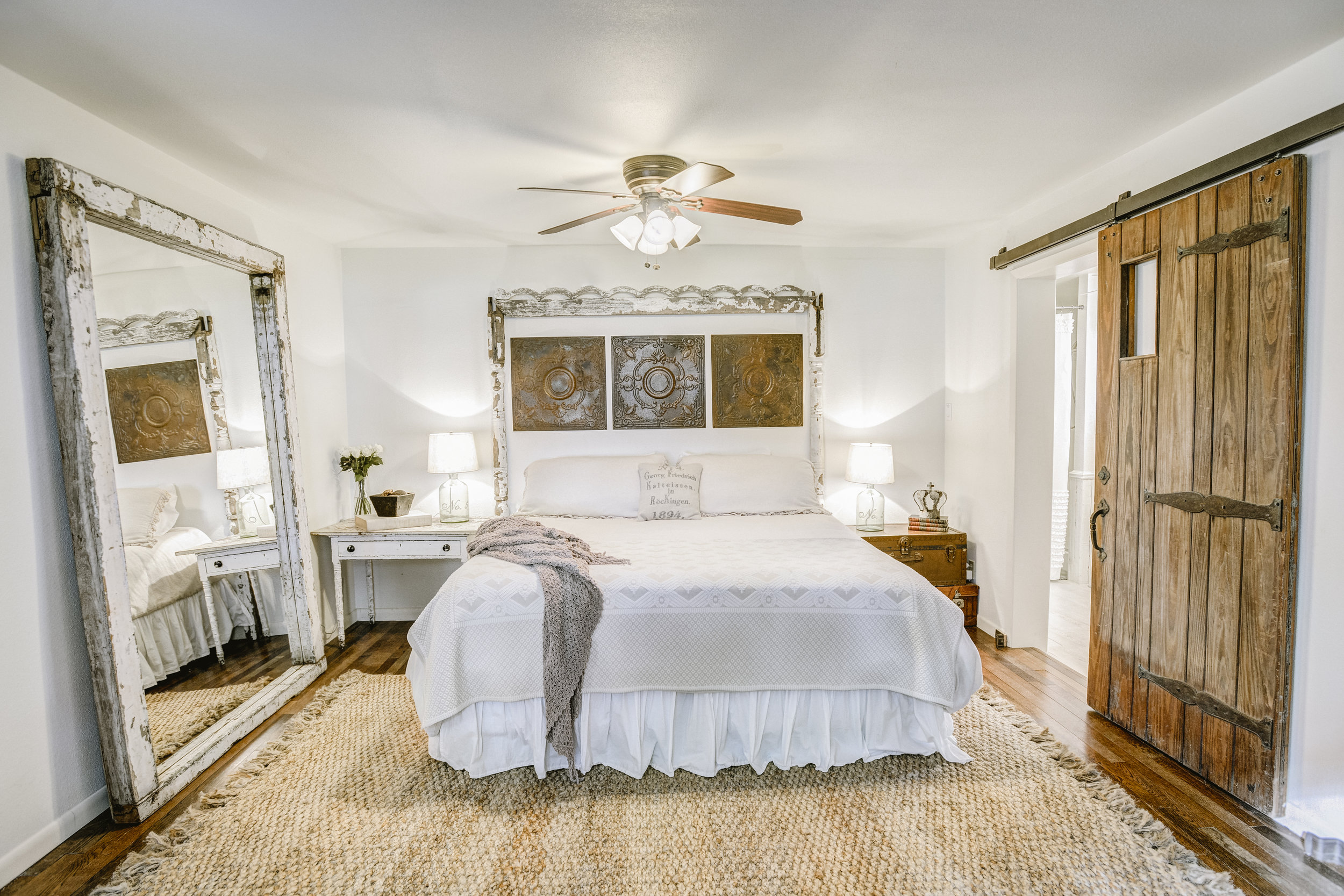 No. 1450 Master Bedroom at The Vintage Round Top