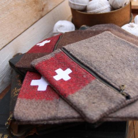 swiss army pouch - $46