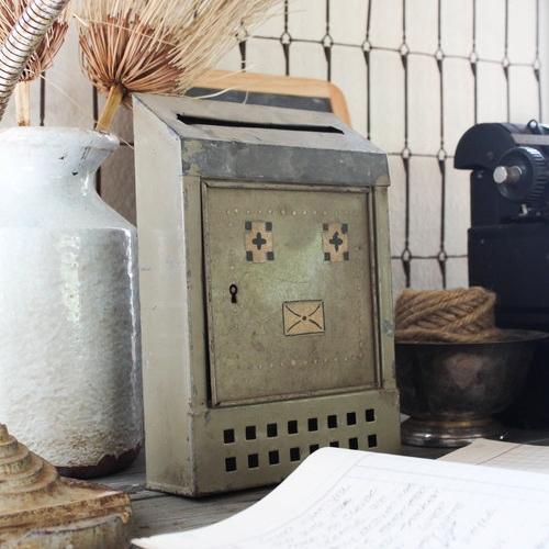 antique mailbox - $48