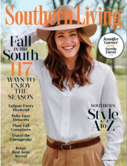 The Vintage Round Top featured in Southern Living
