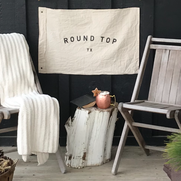 Round Top, Tx Flags - The Vintage Round Top | Available in additional colors and styles. $56