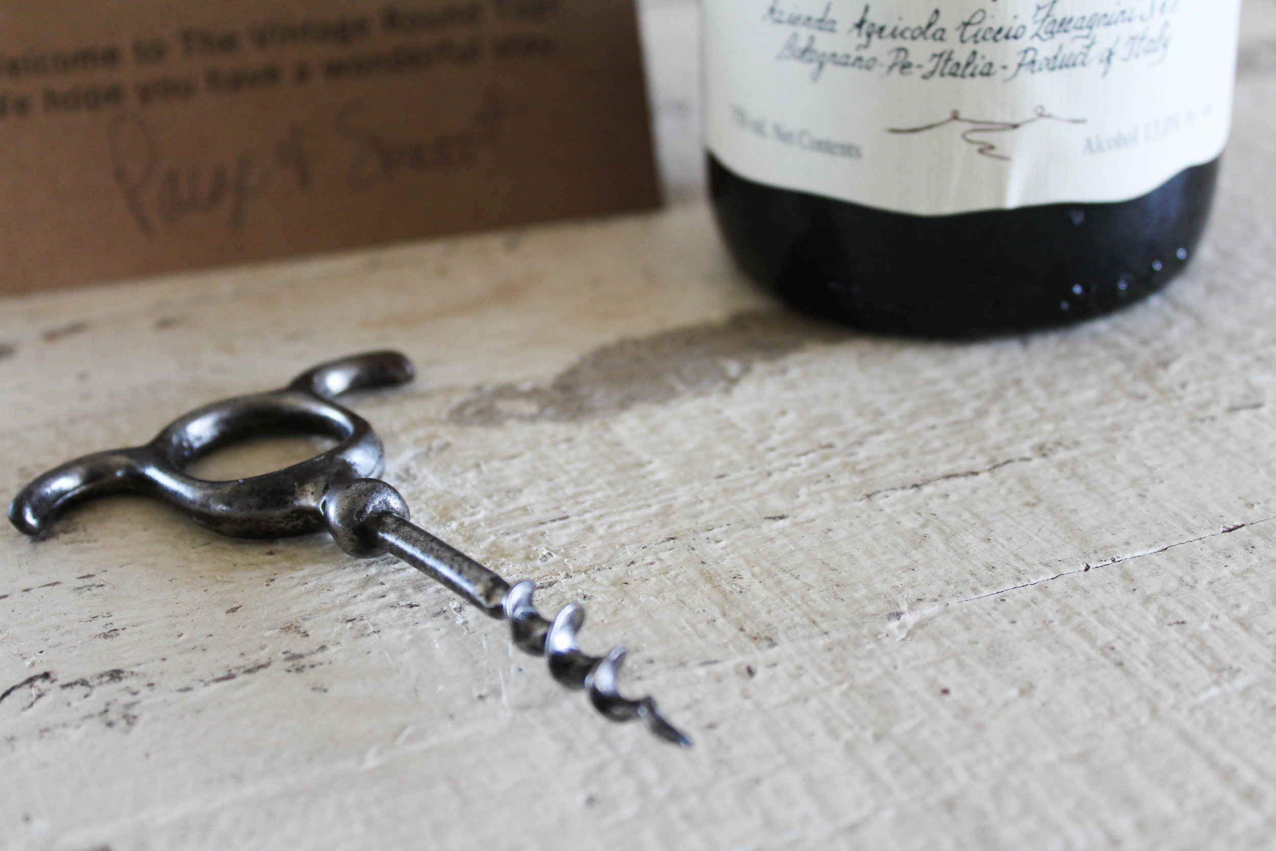 Antique Corkscrew - The Vintage Round Top | $22