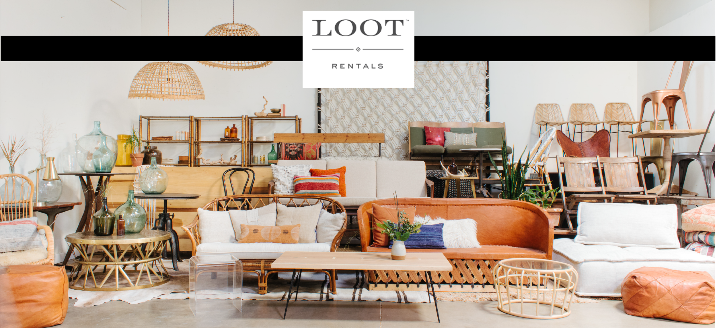 LOOT design vintage rentals