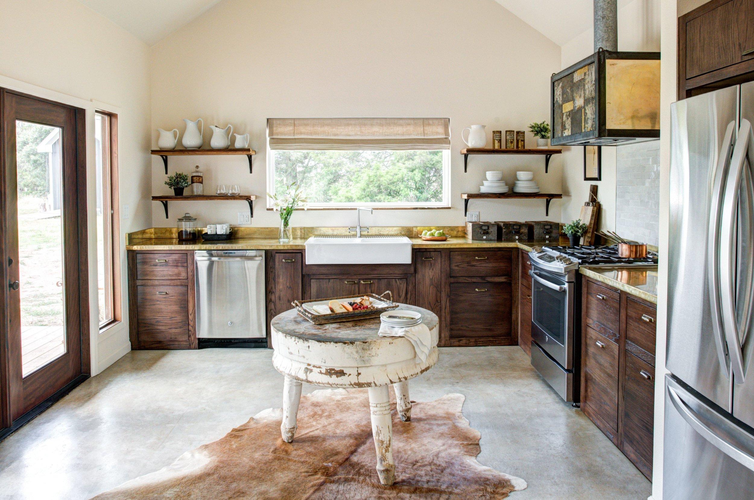 The Boho kitchen.