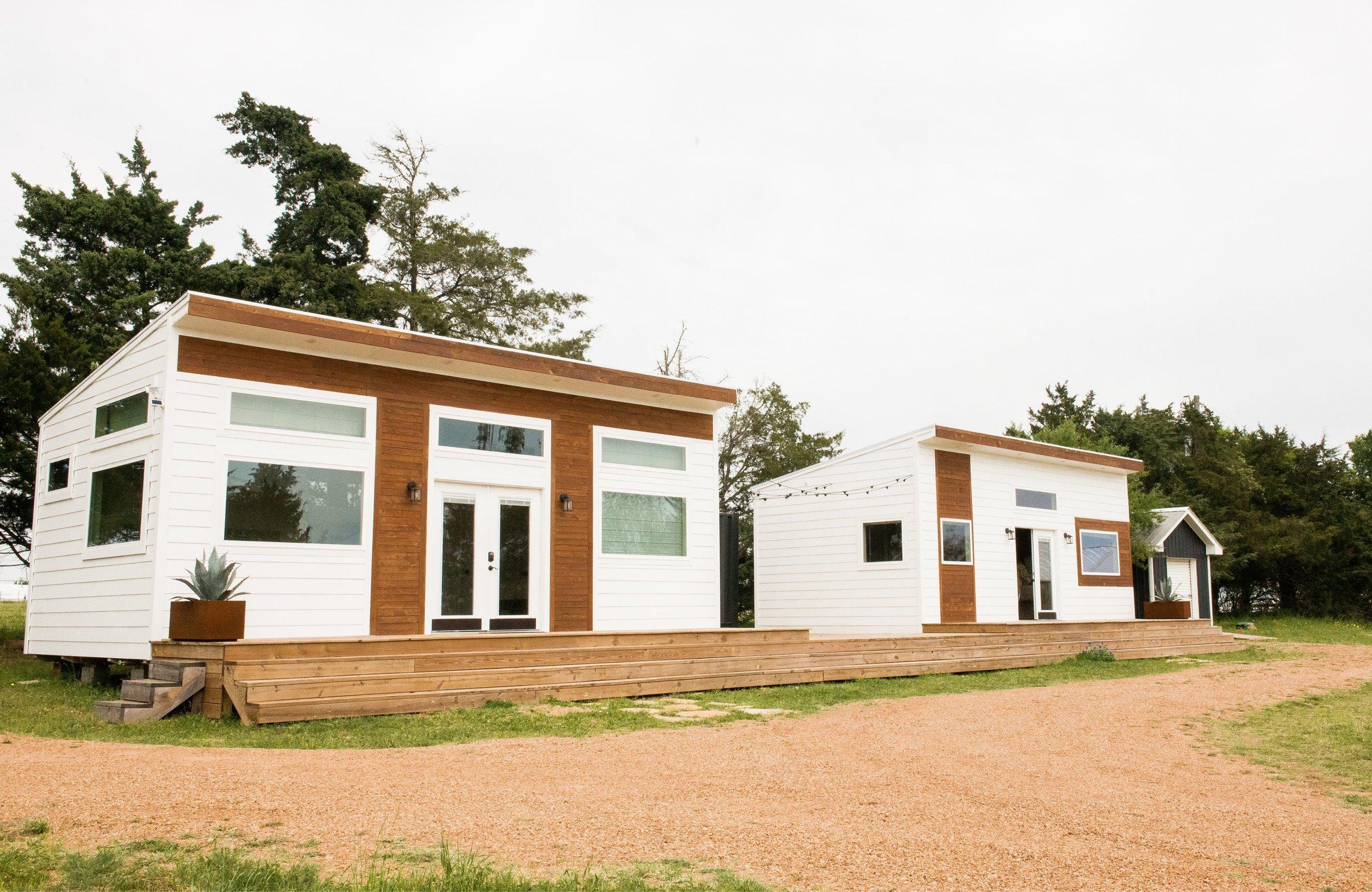 The Cozy Cottages.