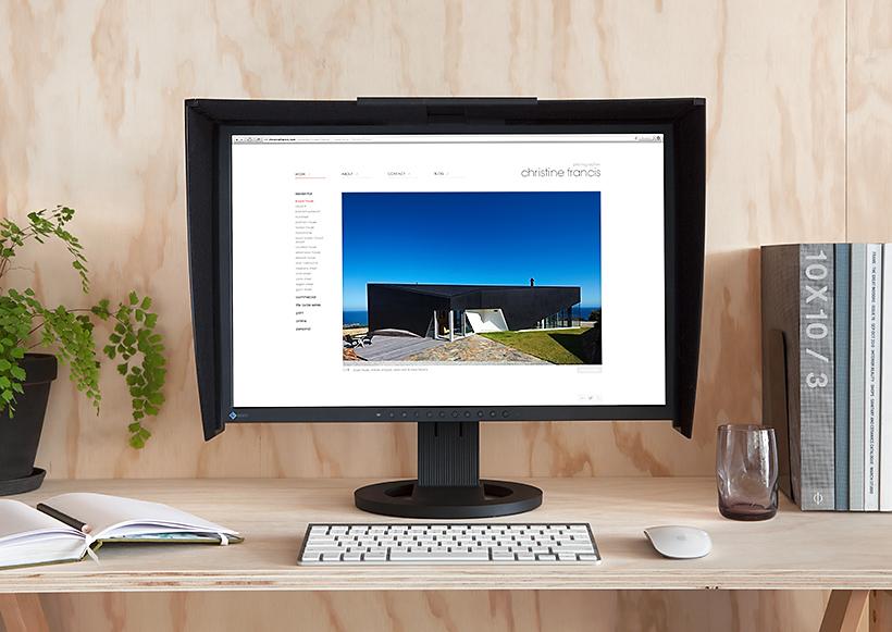 Christine Francis Website Desktop