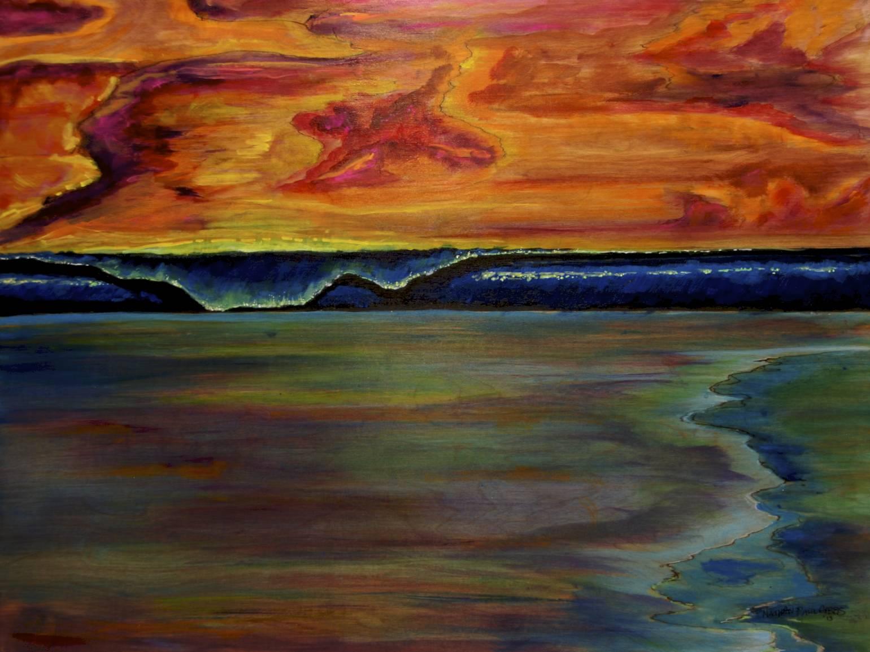 Low_tide_evening_sky_nathan_paul_gibbs_surf_art.jpg