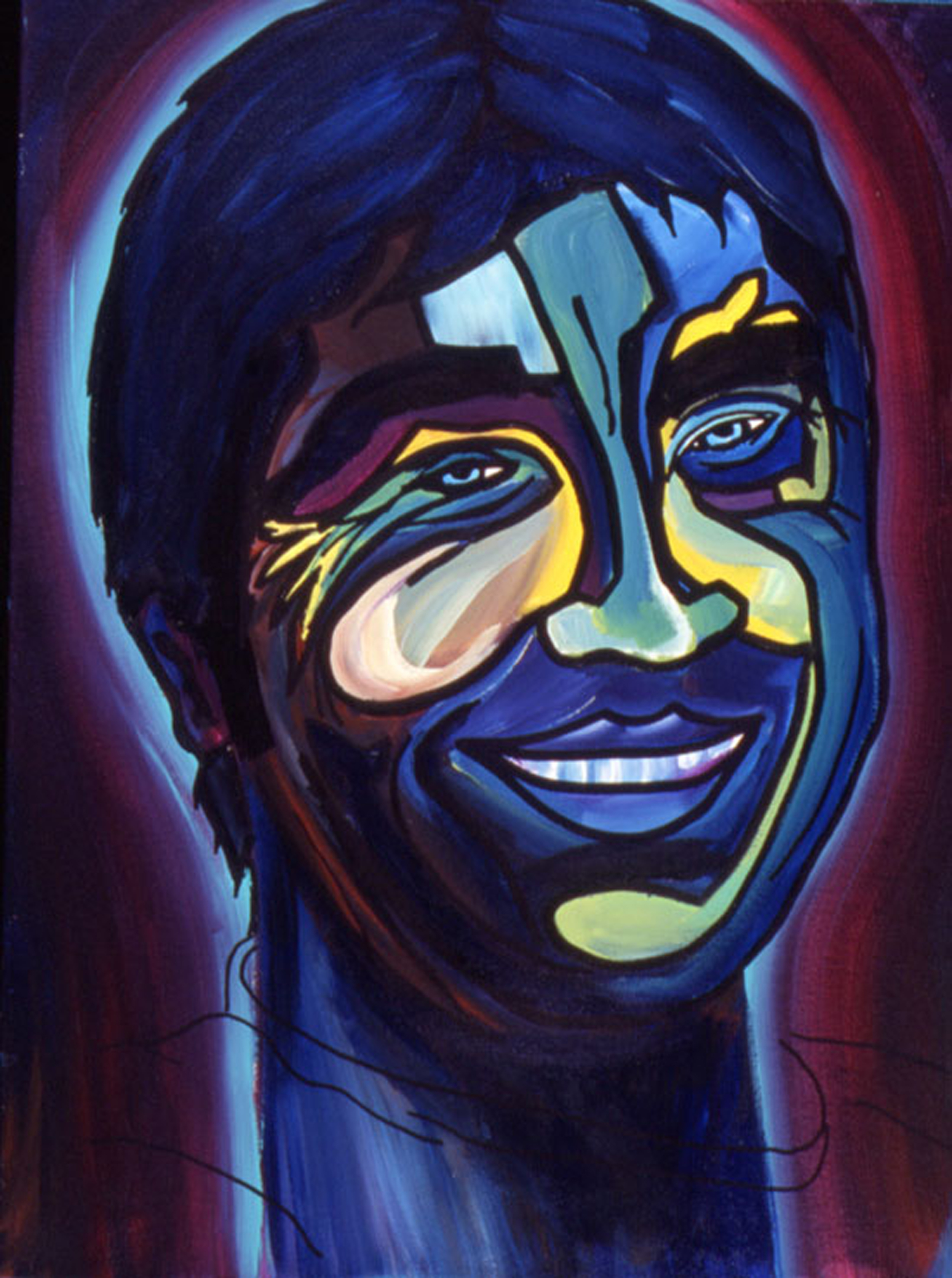 Gerry Lopez Pro Surfer - Acrylic on Canvas.jpg