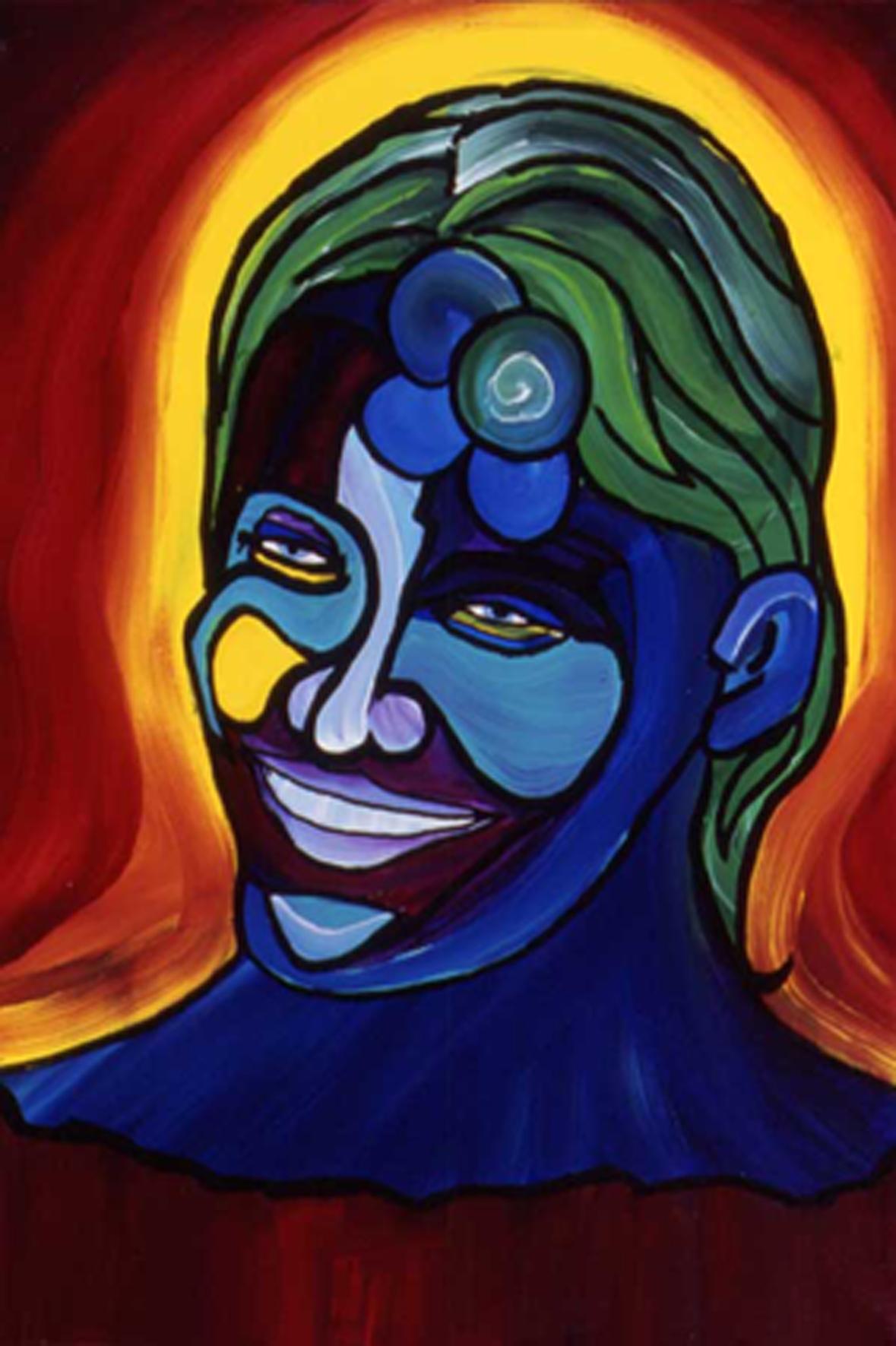 Lisa Anderson Pro Surfer - Acrylic on Canvas.jpg