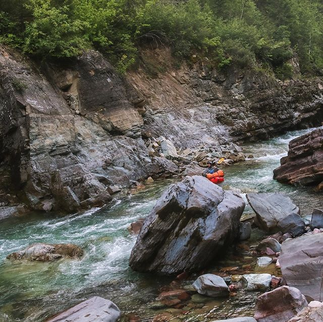 so grateful that this guy came along and made me want to get back in the river. i love watching him do his thing (he's the calmest badass i've ever known), and he inspires me to push myself, while also making me feel totally supported in the moments i choose not to. my confidence is growing (slowly), and so is my craving for more wilderness adventures by his side. #thisispackrafting