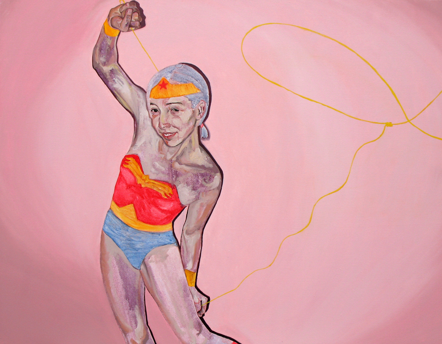Wonder Woman and Her Lasso of Truth