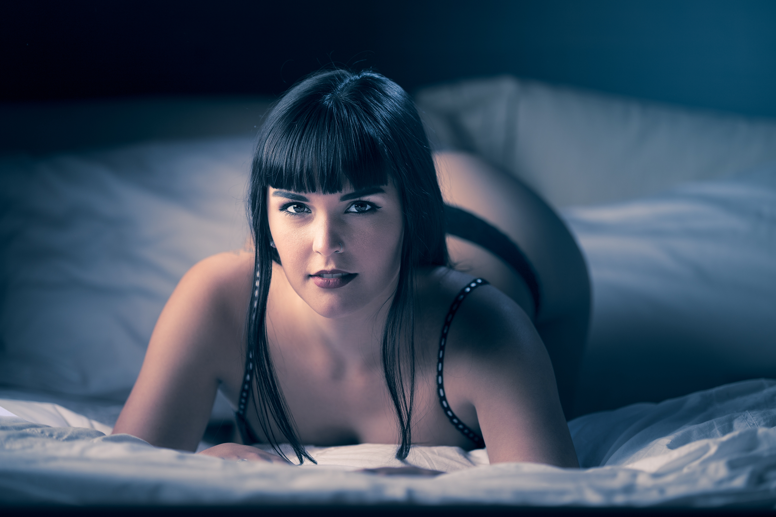 """Boudoir session shot at """"The Grove"""" in Occidental Ca"""