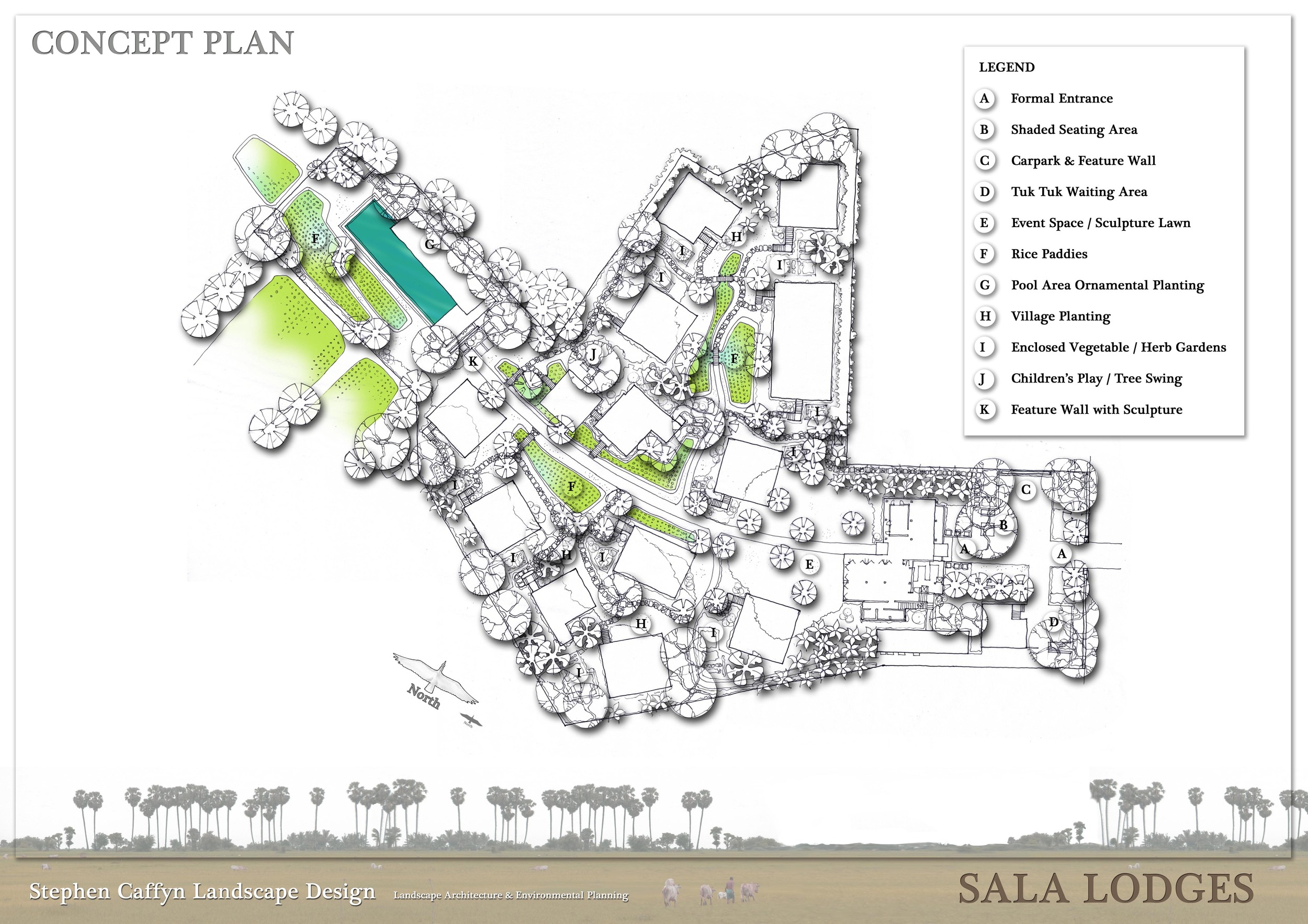 Sala Lodges masterplan