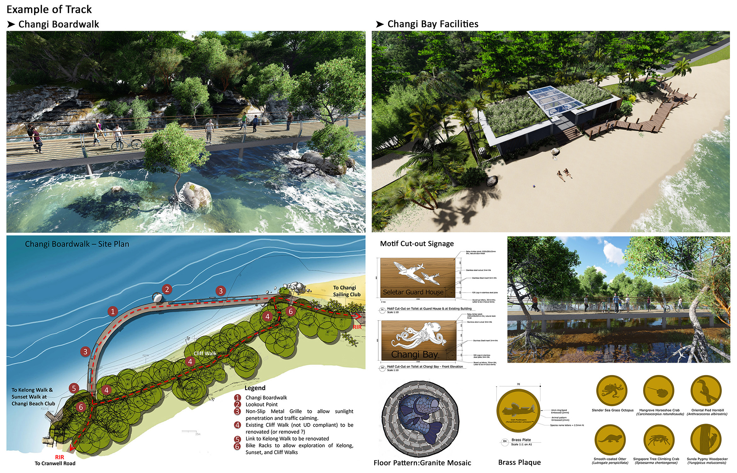 SCLD's work on the Round Island Route includes Design of the Route and Facilities as well as Signage and Artwork elements that enhance the experience for users