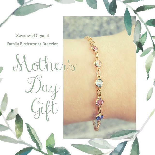 It's not too late to put in your orders for Mother's Day! 🥰 We have customizable birthstone bracelets and necklaces, add one for each loved one she has in her life! Order one either online on our Etsy shop or in-store in the @marketplaceatfactoria!  #handmadejewelry #mothersday #jewelry #giftideas #shopsmall