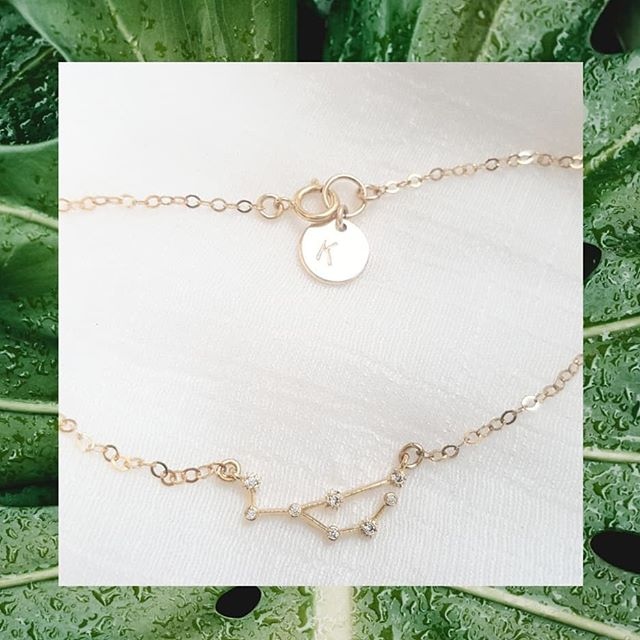 NEW // PERSONALIZED ANKLET $29 #summer #bodyjewelry #sexy #personalizedjewelry #constellation #celestial #initial #anklet #etsy #etsyshop #madetoorder