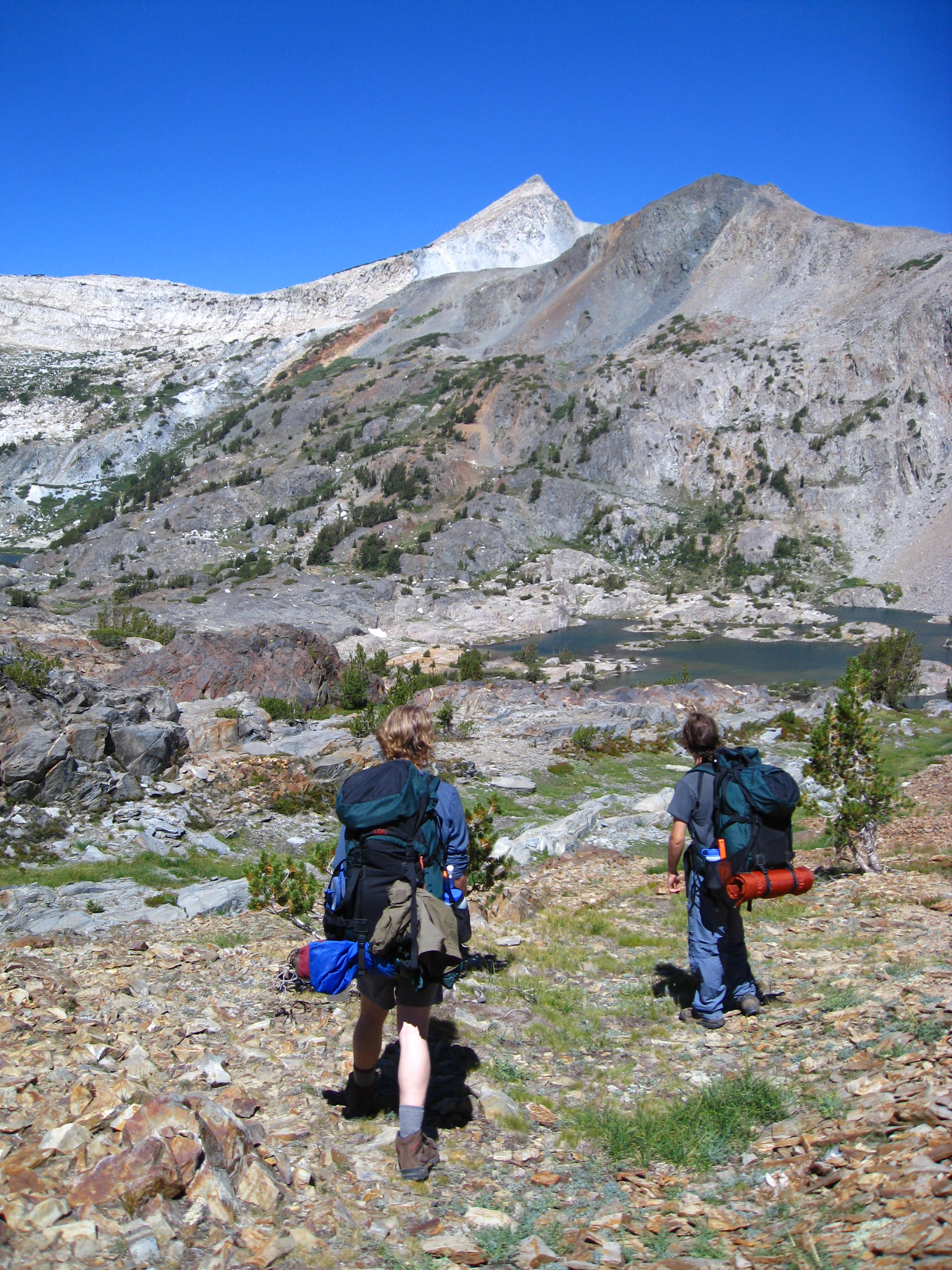 The High Sierras, CA