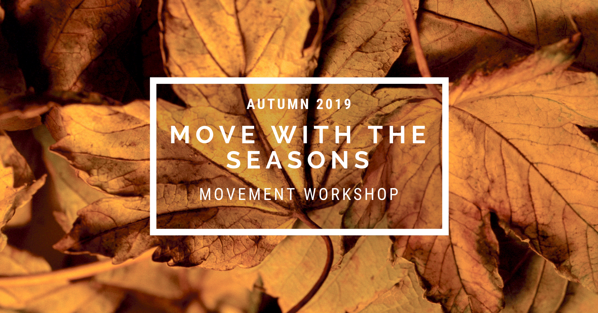 Autumn Event - Autumn practice highlights transition and balance, as our energy and focus starts to gently fall and shift inwards. We keep things mellow… we keep things moving. Join us to rediscover and embrace moving with the seasons.