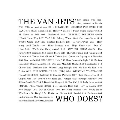 The Van Jets - Who Does
