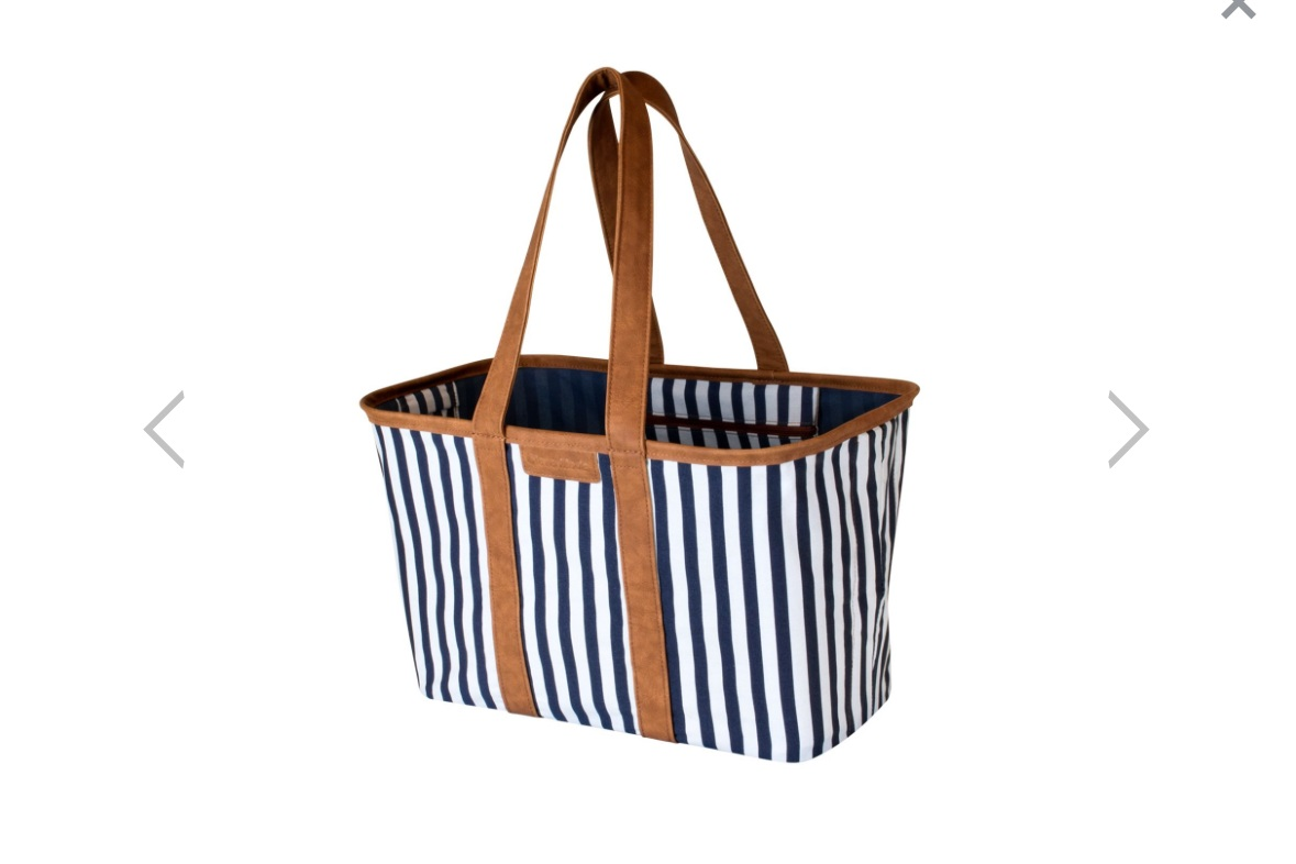 - Super cute, a great price point, pretty much your go to spring and summer tote for all things under the sun.Find it here.