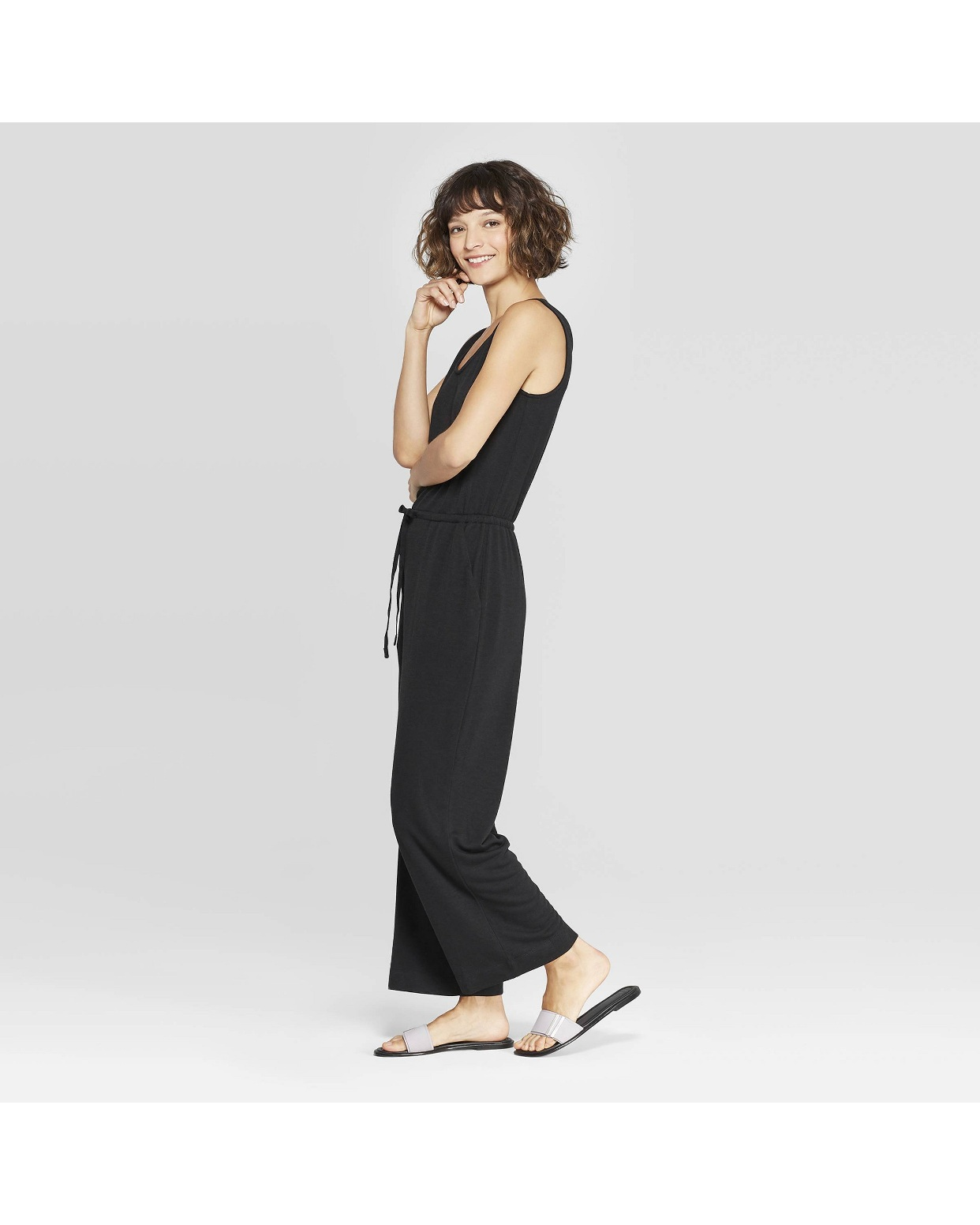 - I know, another black romper. Hah. I can't resist a black comfy romper! This one is great! Super flattering and great for around the house or running errands!Find it here.